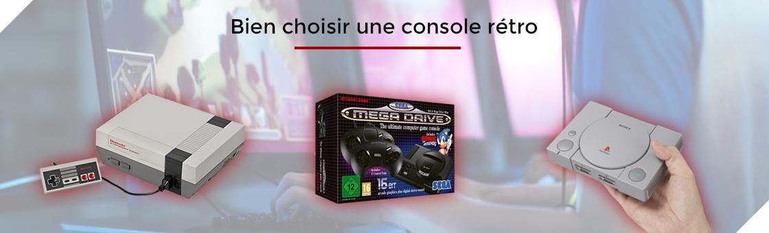 Bien choisir une console rétro