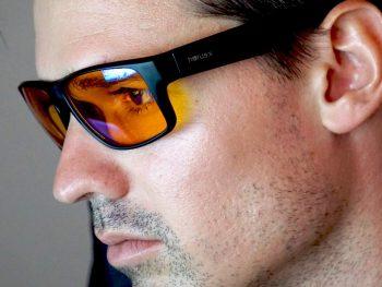 lunettes anti lumière bleue gamer